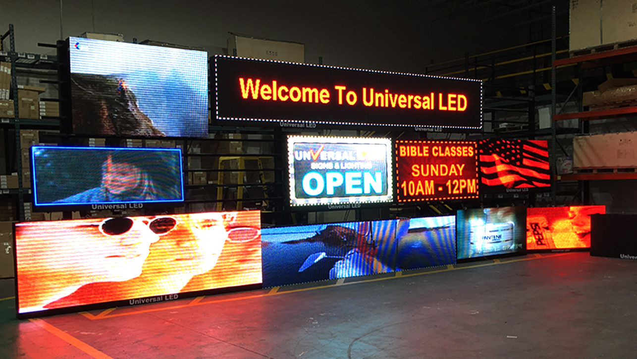 INDOOR LED MSG BOARD